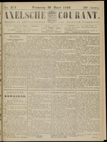 Axelsche Courant 1919-03-26