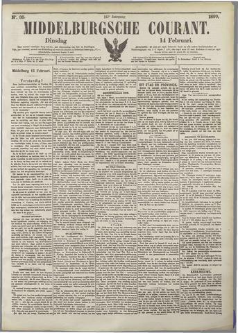 Middelburgsche Courant 1899-02-14