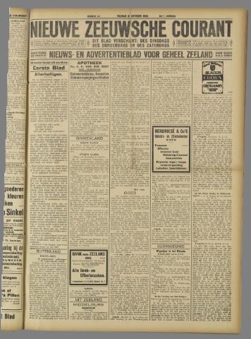 Nieuwe Zeeuwsche Courant 1924-10-31