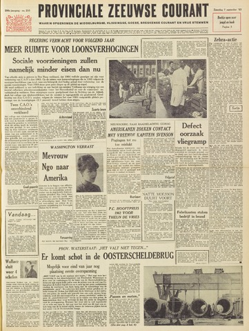 Provinciale Zeeuwse Courant 1963-09-07