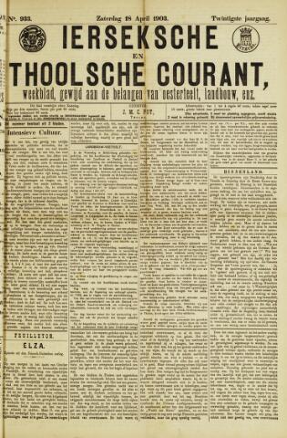Ierseksche en Thoolsche Courant 1903-04-18