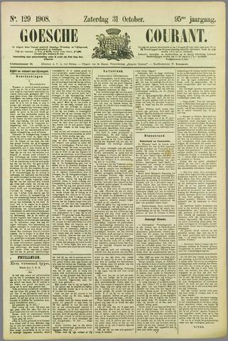 Goessche Courant 1908-10-31