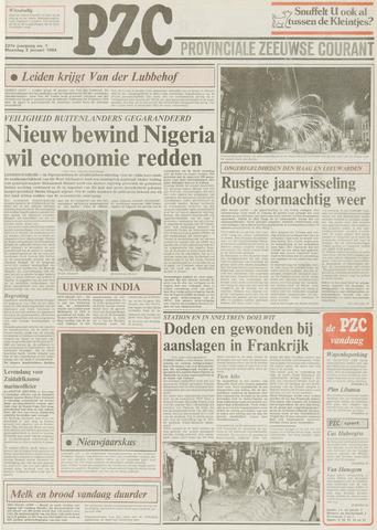 Provinciale Zeeuwse Courant 1984