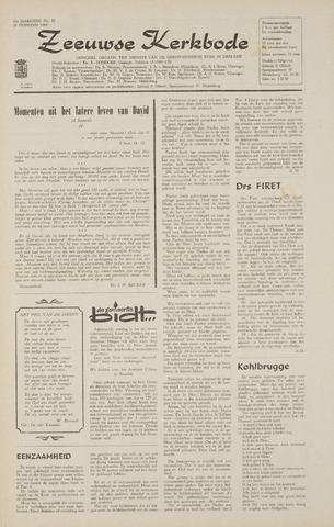Zeeuwsche kerkbode, weekblad gewijd aan de belangen der gereformeerde kerken/ Zeeuwsch kerkblad 1968-02-29