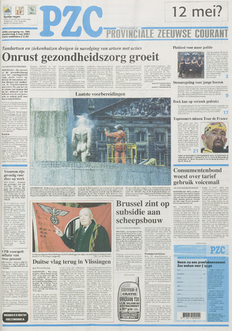 Provinciale Zeeuwse Courant 2001-05-03