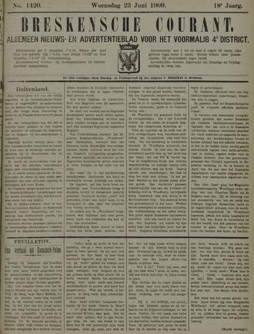 Breskensche Courant 1909-06-23