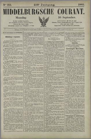 Middelburgsche Courant 1883-09-10