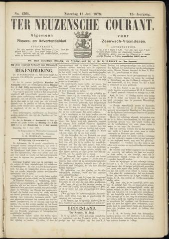 Ter Neuzensche Courant. Algemeen Nieuws- en Advertentieblad voor Zeeuwsch-Vlaanderen / Neuzensche Courant ... (idem) / (Algemeen) nieuws en advertentieblad voor Zeeuwsch-Vlaanderen 1878-06-15