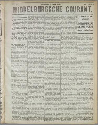 Middelburgsche Courant 1921-05-17