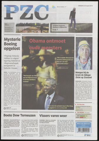 Provinciale Zeeuwse Courant 2014-03-25
