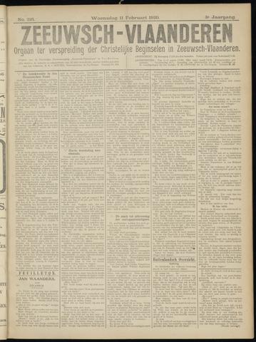 Luctor et Emergo. Antirevolutionair nieuws- en advertentieblad voor Zeeland / Zeeuwsch-Vlaanderen. Orgaan ter verspreiding van de christelijke beginselen in Zeeuwsch-Vlaanderen 1920-02-11