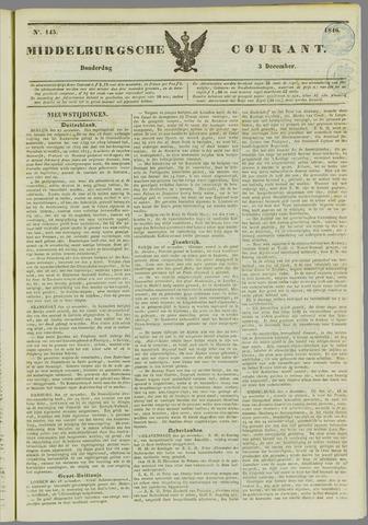 Middelburgsche Courant 1846-12-03