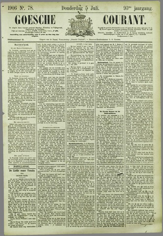 Goessche Courant 1906-07-05
