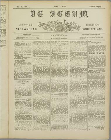 De Zeeuw. Christelijk-historisch nieuwsblad voor Zeeland 1898-03-01