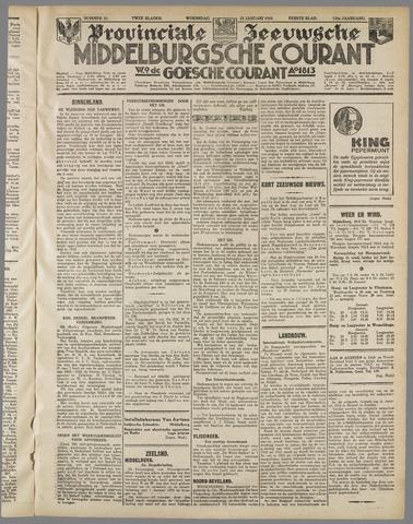 Middelburgsche Courant 1933-01-25