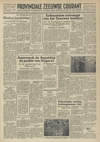 Provinciale Zeeuwse Courant 1948-02-12