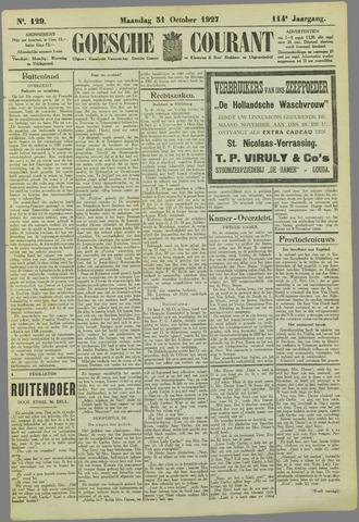 Goessche Courant 1927-10-31