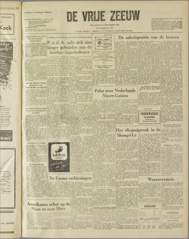de Vrije Zeeuw 1958-11-24
