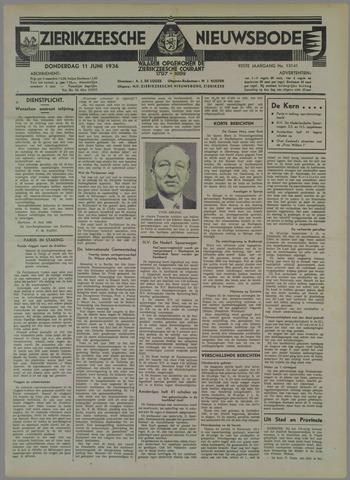 Zierikzeesche Nieuwsbode 1936-06-11