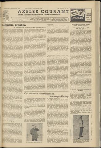 Axelsche Courant 1956-01-21