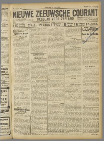 Nieuwe Zeeuwsche Courant 1922-07-15