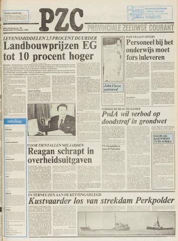 Provinciale Zeeuwse Courant 1981-02-19