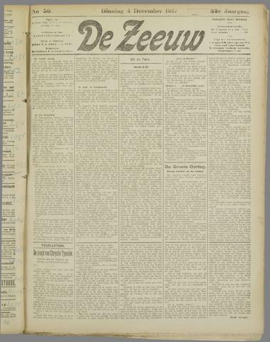 De Zeeuw. Christelijk-historisch nieuwsblad voor Zeeland 1917-12-04