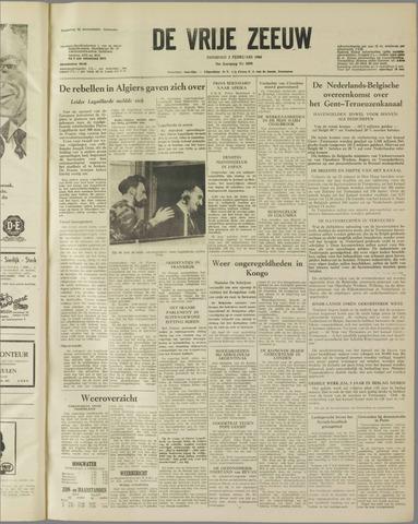 de Vrije Zeeuw 1960-02-02