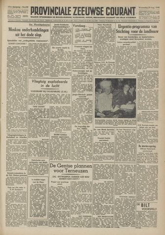 Provinciale Zeeuwse Courant 1948-08-25