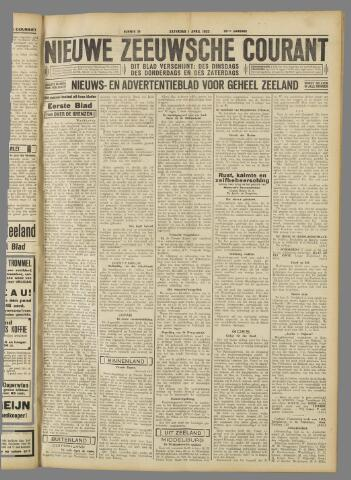 Nieuwe Zeeuwsche Courant 1933-04-01