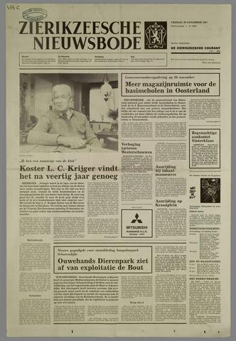 Zierikzeesche Nieuwsbode 1987-11-20
