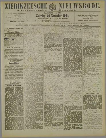Zierikzeesche Nieuwsbode 1904-11-26