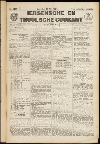 Ierseksche en Thoolsche Courant 1918-05-25