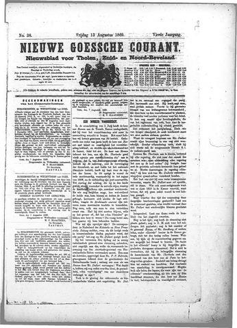 Nieuwe Goessche Courant 1869-08-13