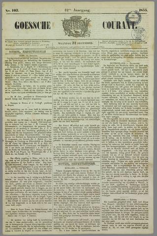 Goessche Courant 1855-12-31