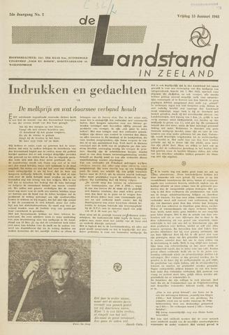 De landstand in Zeeland, geïllustreerd weekblad. 1943-01-15