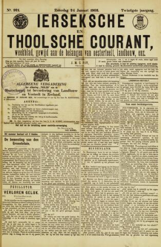 Ierseksche en Thoolsche Courant 1903-01-24