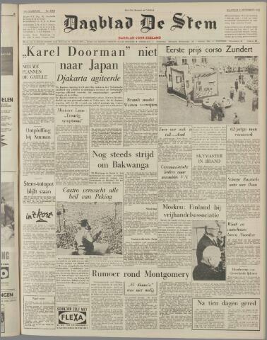 de Stem 1960-09-05
