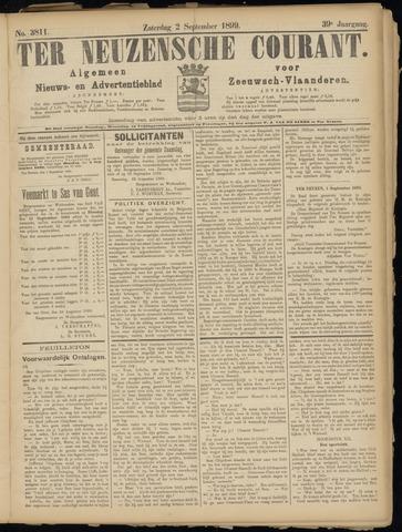 Ter Neuzensche Courant. Algemeen Nieuws- en Advertentieblad voor Zeeuwsch-Vlaanderen / Neuzensche Courant ... (idem) / (Algemeen) nieuws en advertentieblad voor Zeeuwsch-Vlaanderen 1899-09-02