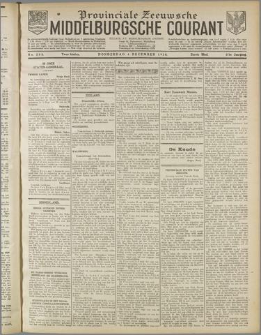 Middelburgsche Courant 1930-12-04