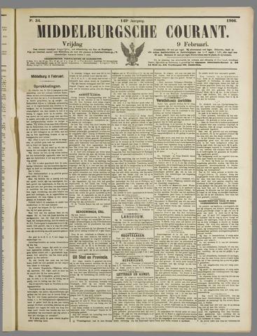 Middelburgsche Courant 1906-02-09