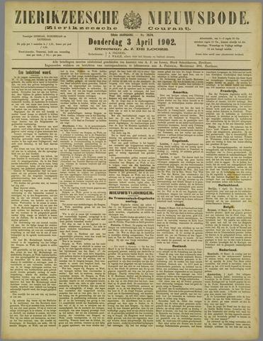 Zierikzeesche Nieuwsbode 1902-04-03