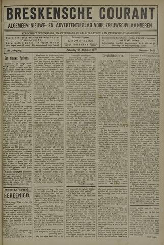 Breskensche Courant 1919-10-25