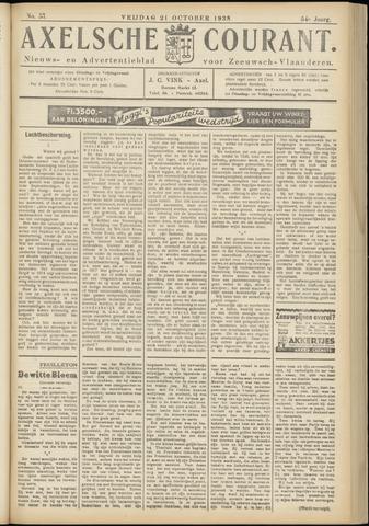 Axelsche Courant 1938-10-21