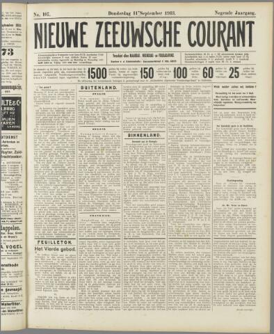 Nieuwe Zeeuwsche Courant 1913-09-11