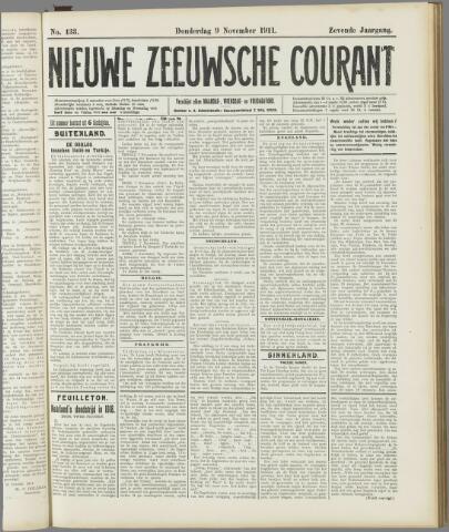 Nieuwe Zeeuwsche Courant 1911-11-09