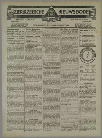 Zierikzeesche Nieuwsbode 1940-06-01