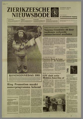 Zierikzeesche Nieuwsbode 1985-05-02