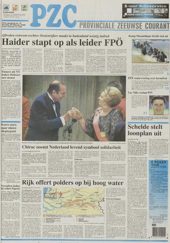 Provinciale Zeeuwse Courant 2000-02-29