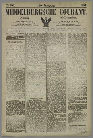 Middelburgsche Courant 1887-12-20
